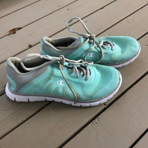 Women's Champion Teal Sneakers